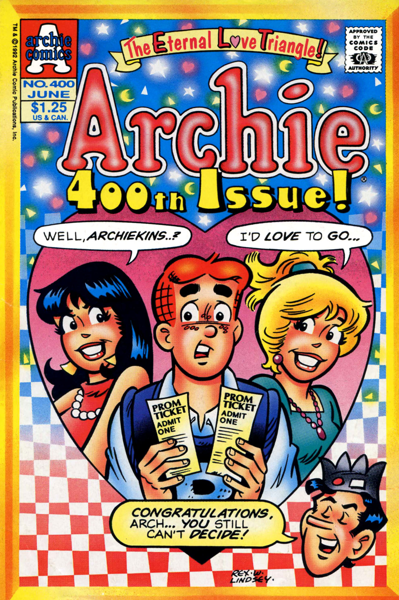 Read online Archie (1960) comic -  Issue #400 - 1