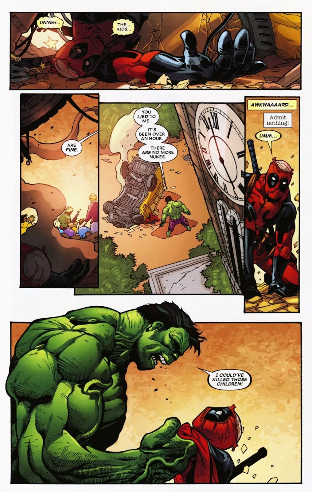 Read online Deadpool (2008) comic -  Issue #39 - 18