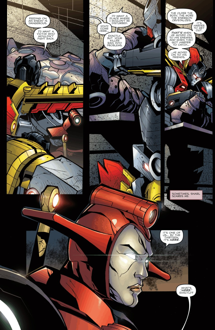 Read online Transformers Prime: Beast Hunters comic -  Issue #2 - 13