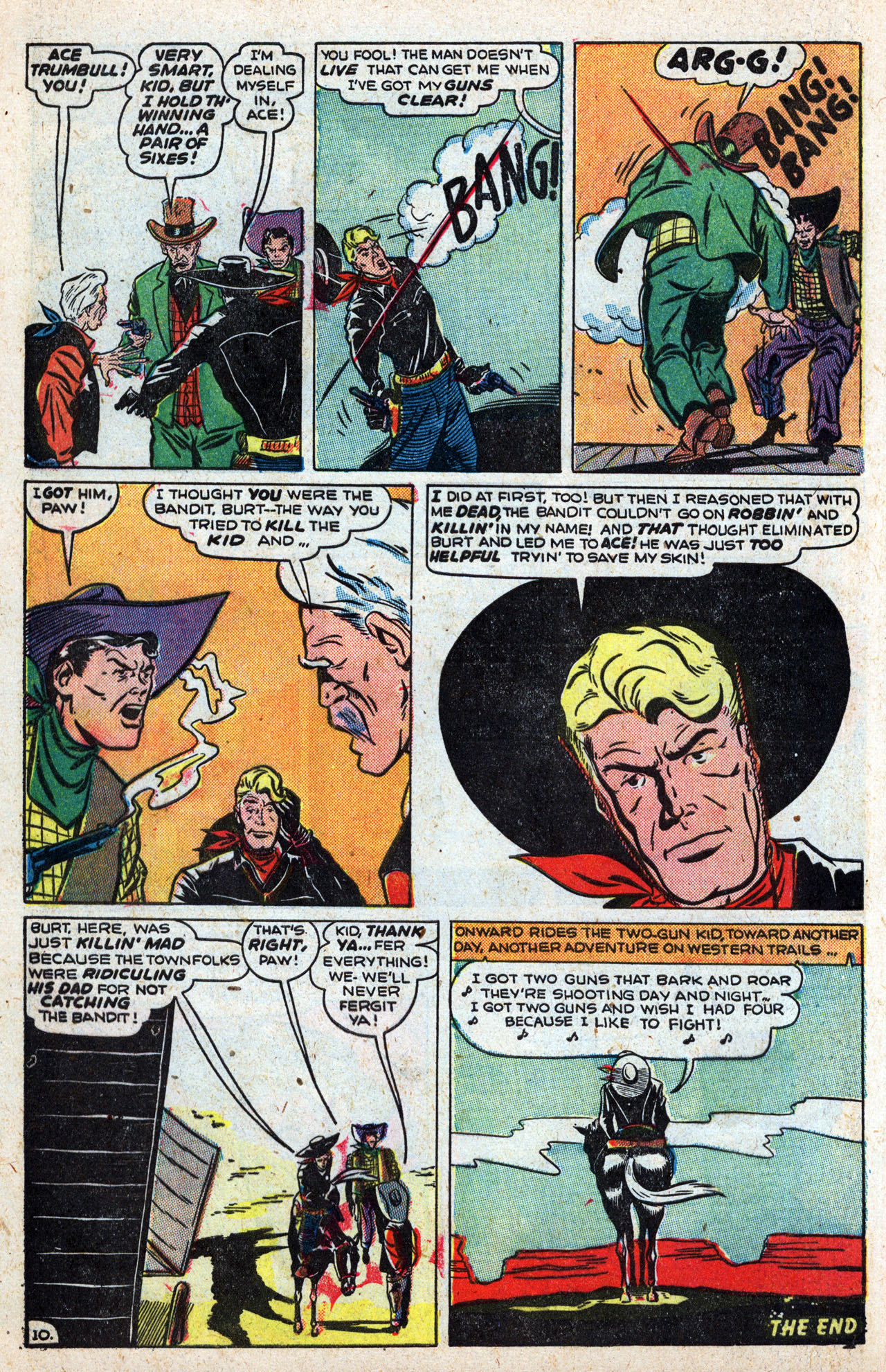 Read online Two-Gun Kid comic -  Issue #4 - 12