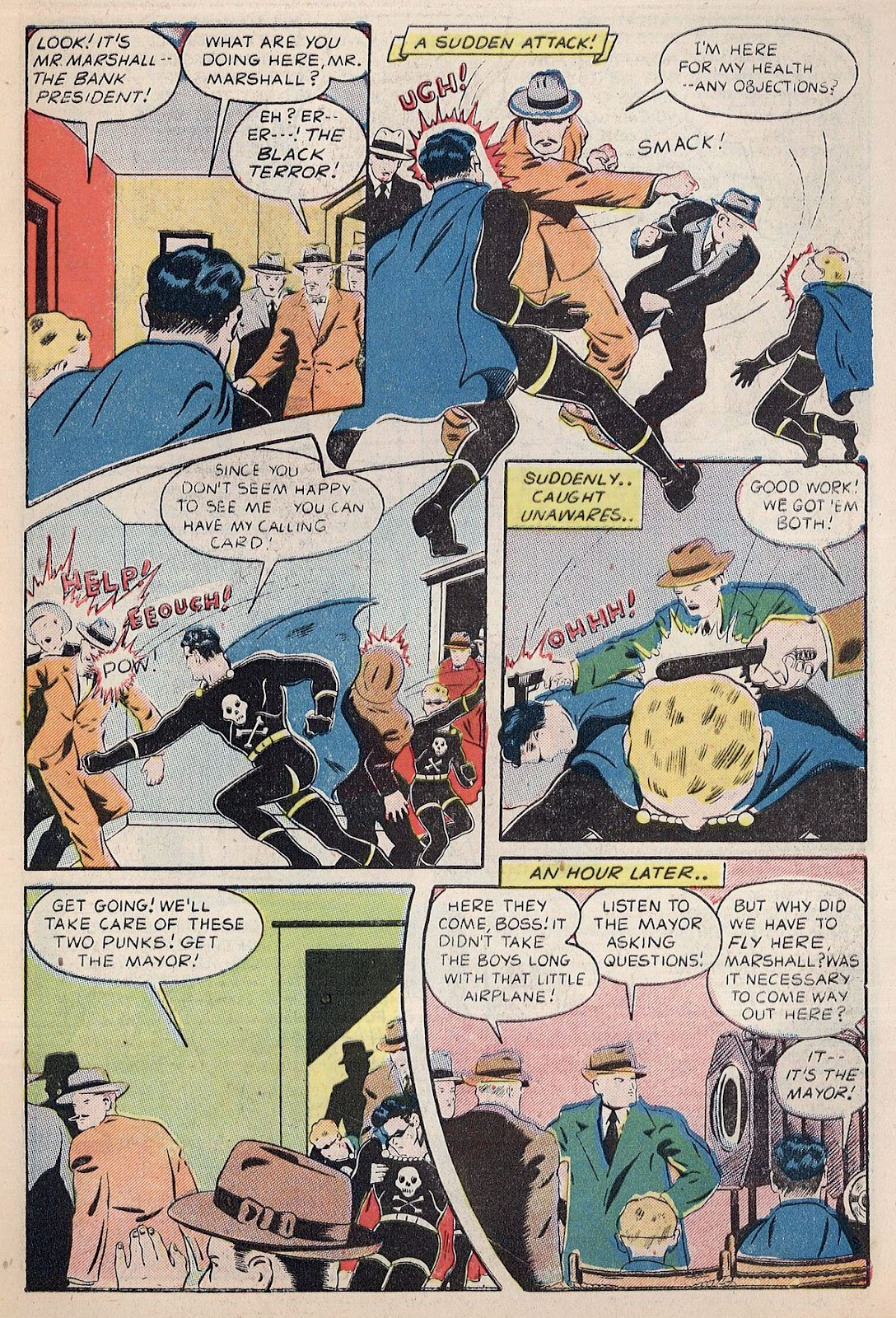 Exciting Comics (1940) issue 38 - Page 9