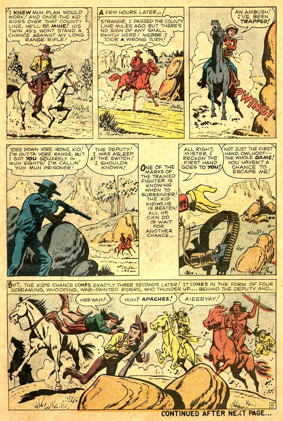 Gunsmoke Western issue 63 - Page 7