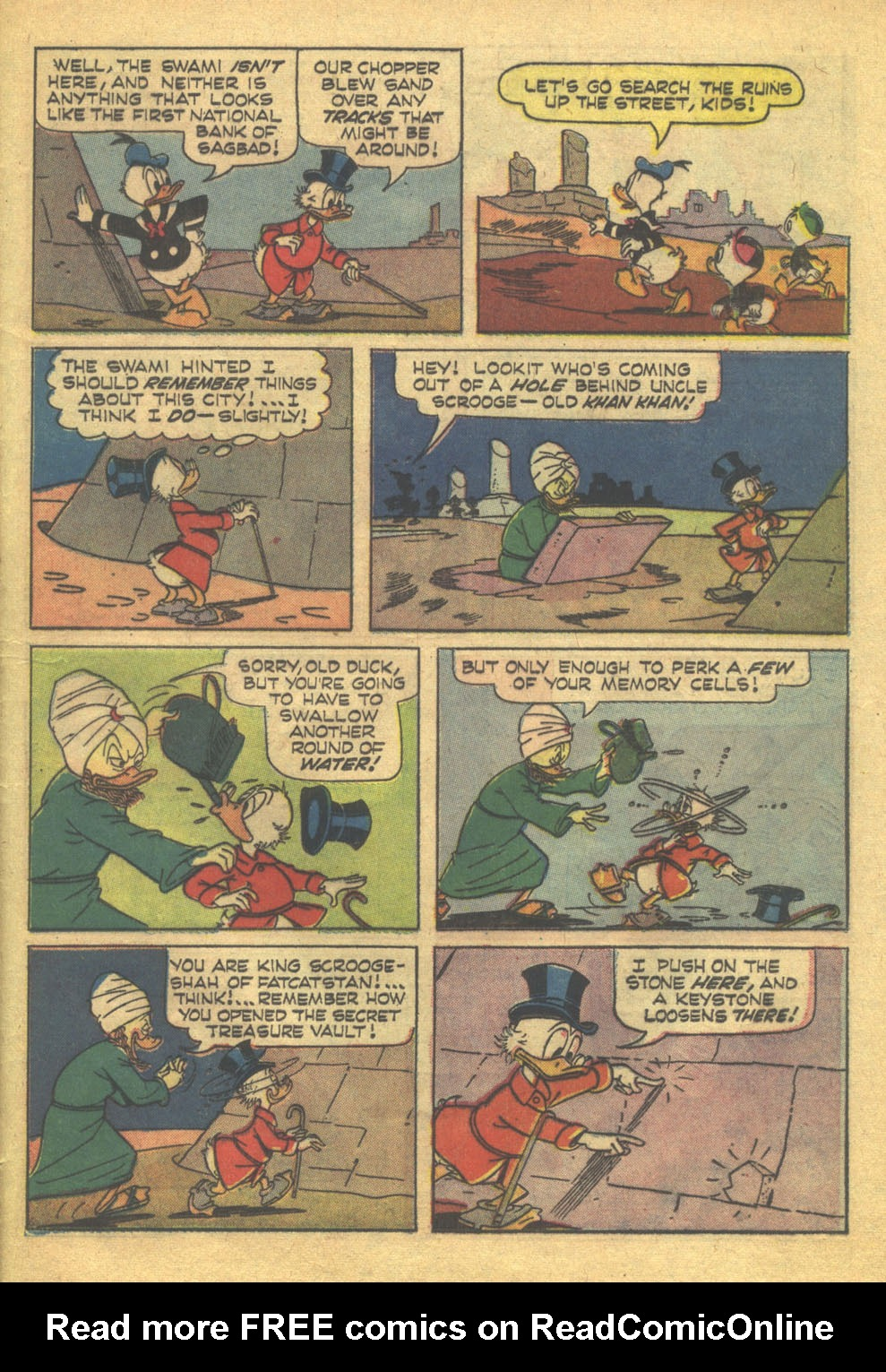 Read online Uncle Scrooge (1953) comic -  Issue #71 - 24