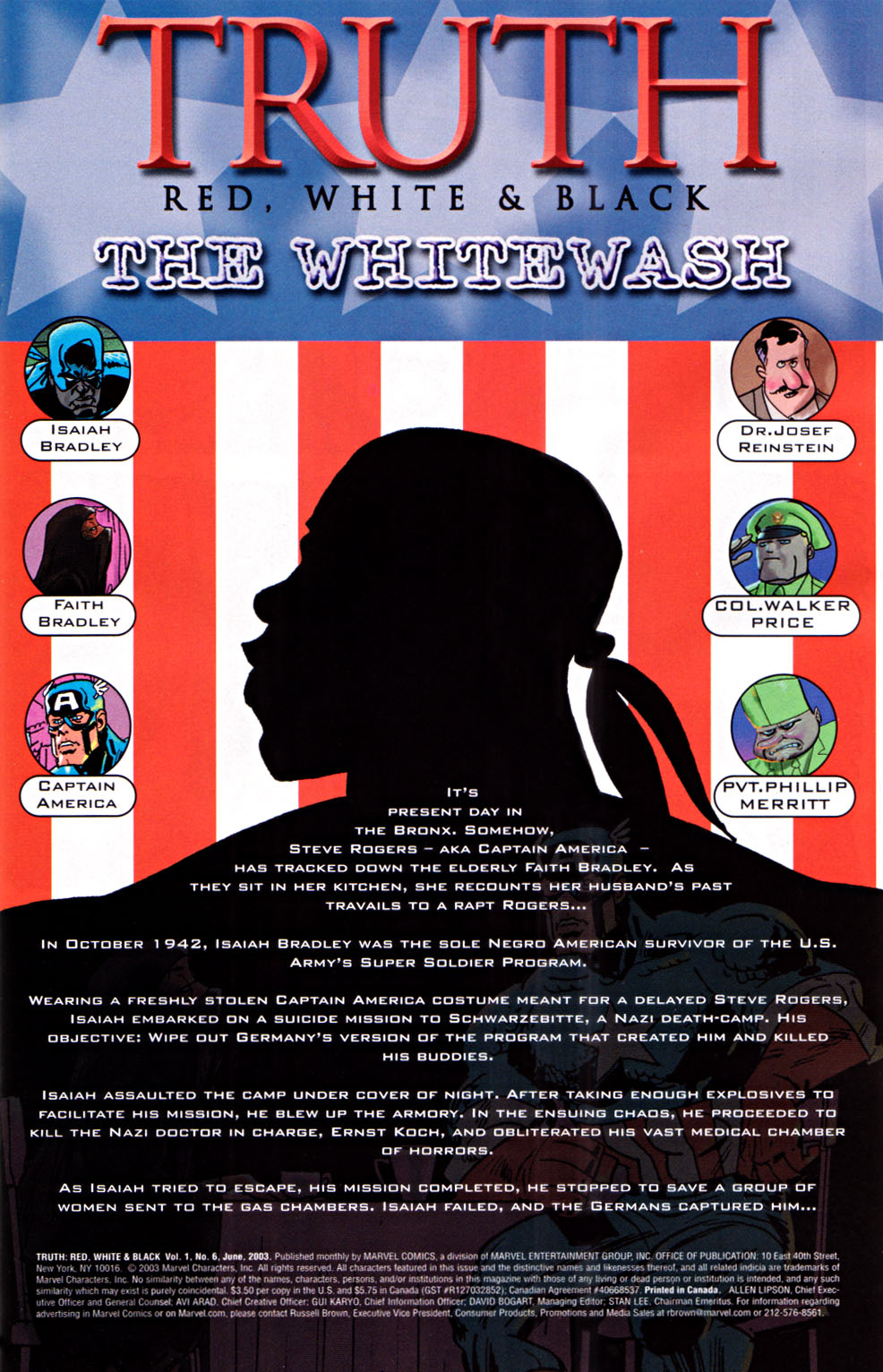 Read online Truth: Red, White & Black comic -  Issue #6 - 2