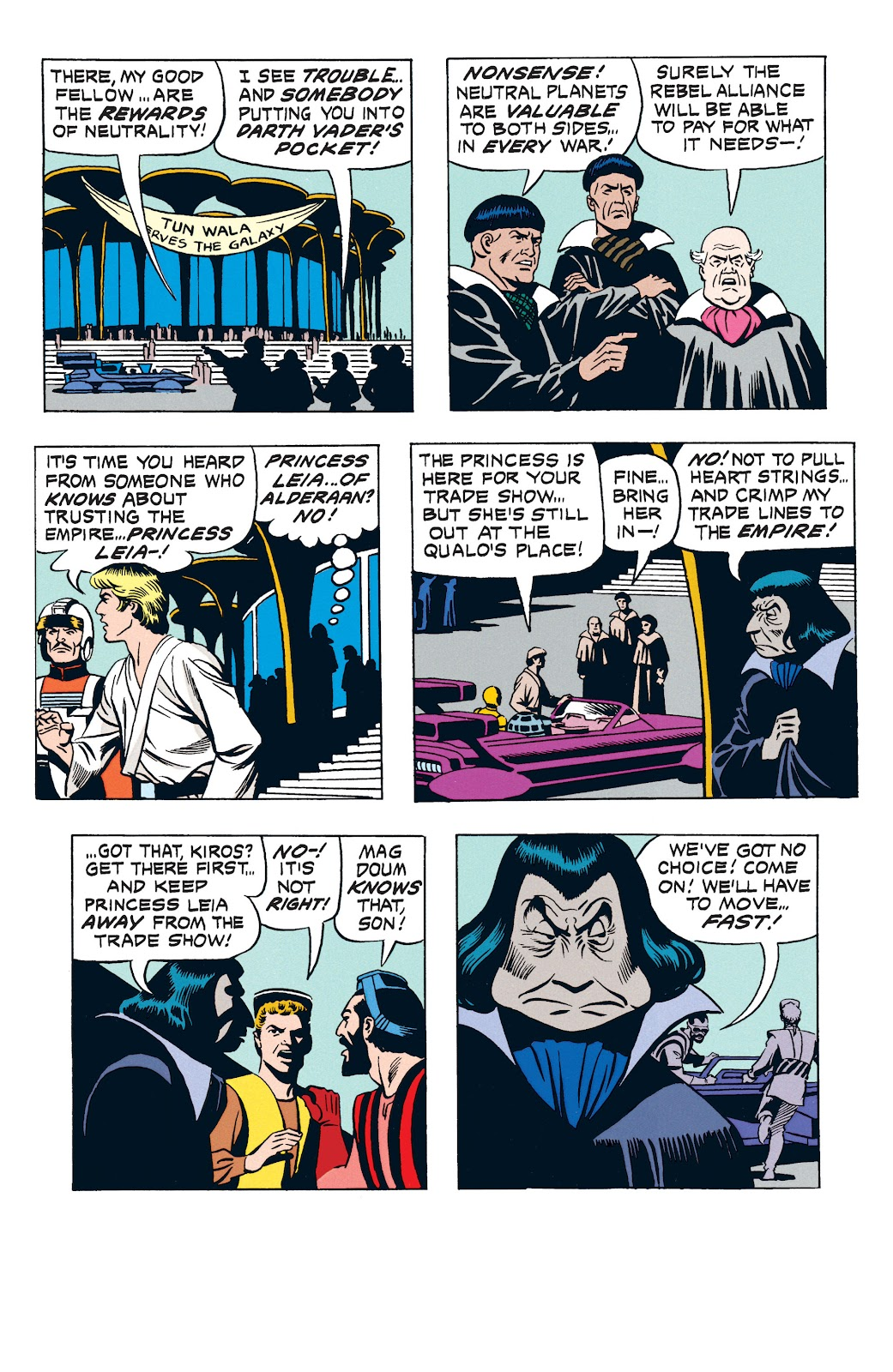 Read online Star Wars Legends: The Newspaper Strips - Epic Collection comic -  Issue # TPB (Part 3) - 33