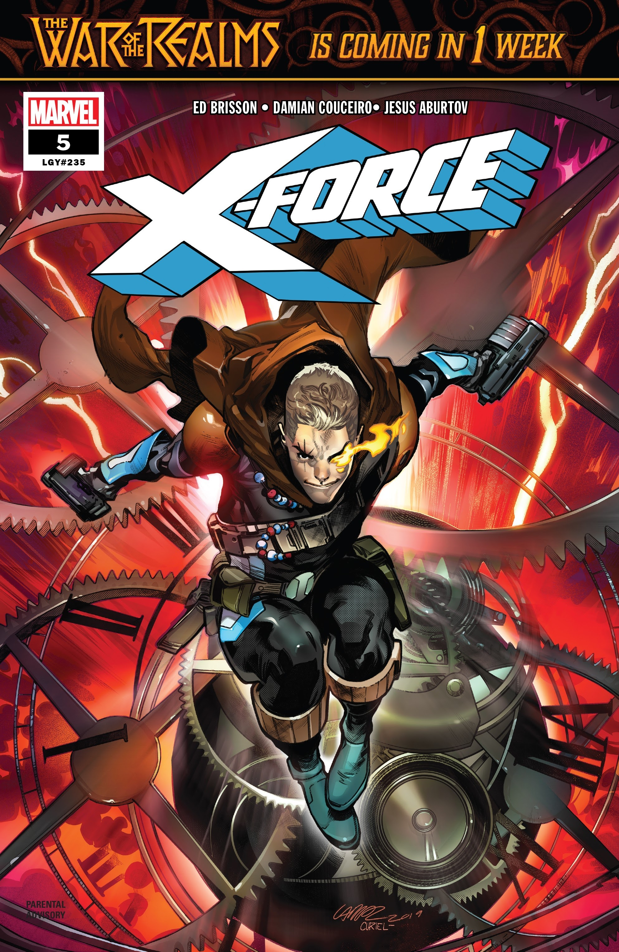 X-Force (2019) 5 Page 1