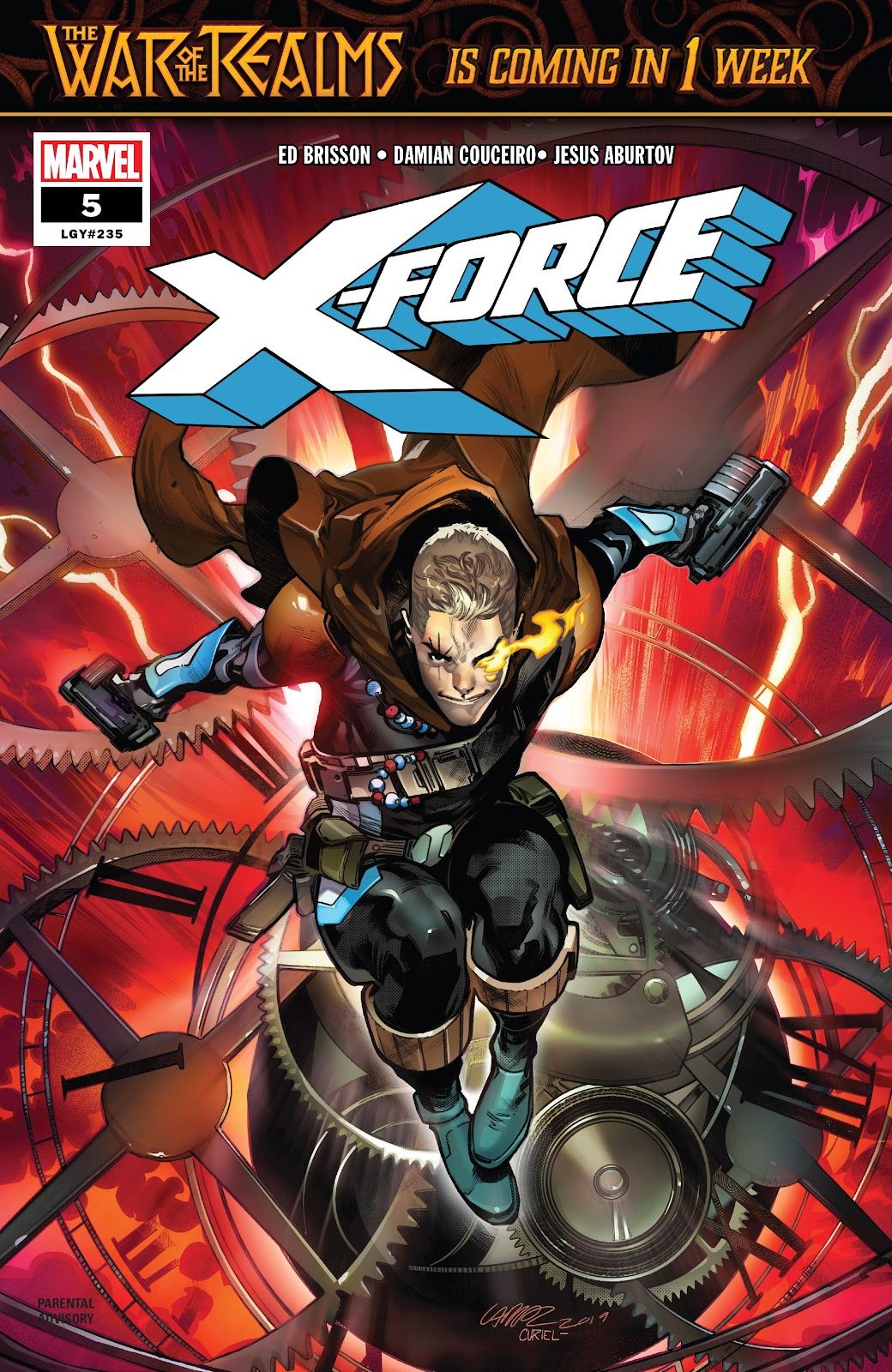 X-Force (2019) issue 5 - Page 1