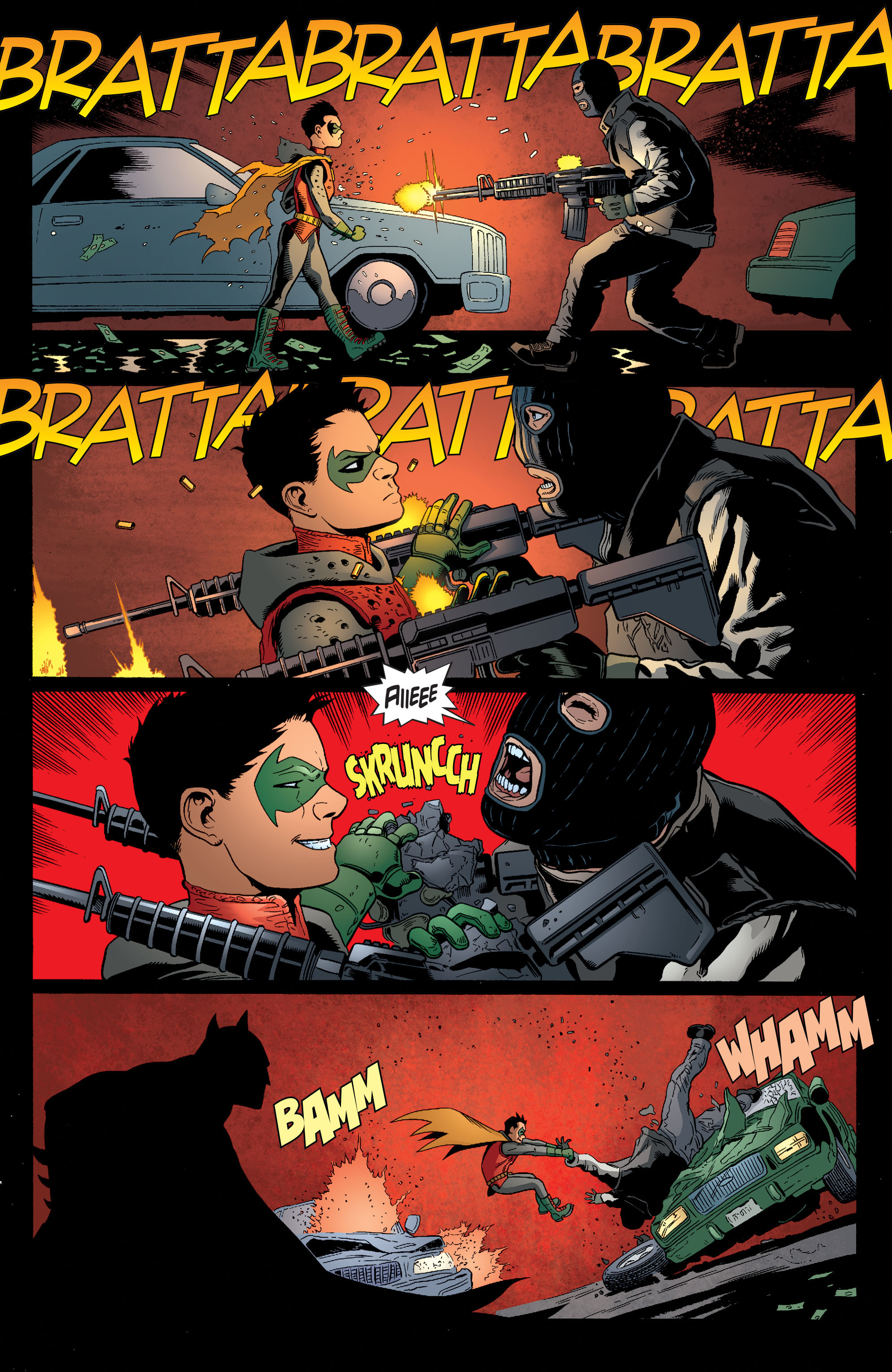 Read online Batman and Robin (2011) comic -  Issue #38 - 6