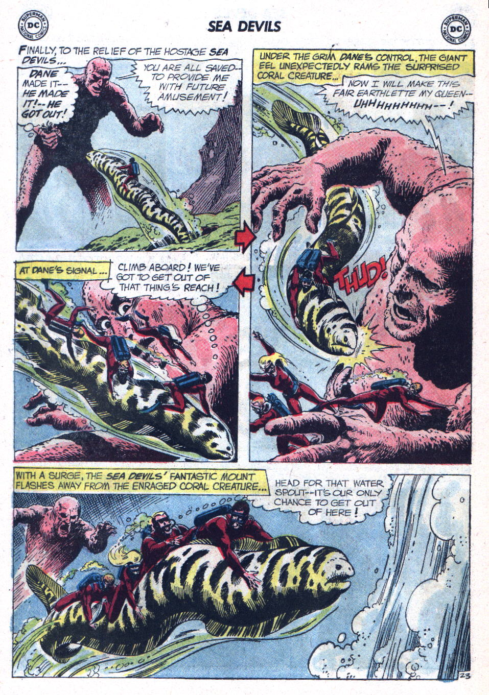 Read online Sea Devils comic -  Issue #9 - 31