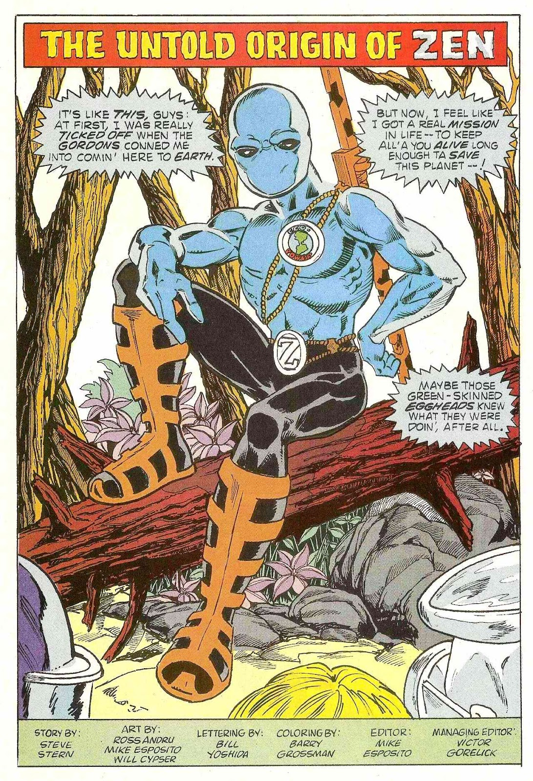 Read online Zen Intergalactic Ninja (1992) comic -  Issue #1 - 11