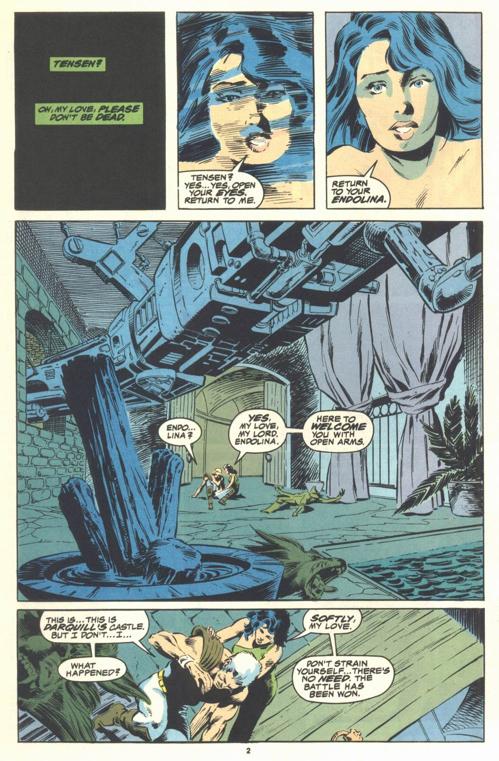 Read online Justice (1986) comic -  Issue #21 - 4