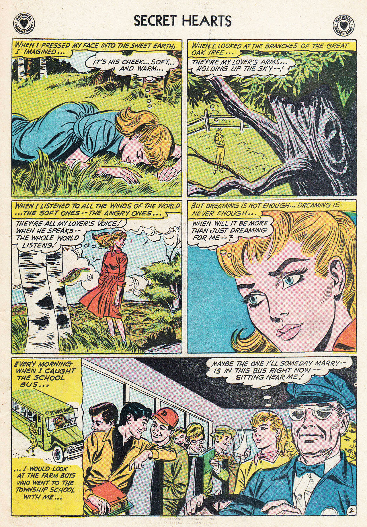 Read online Secret Hearts comic -  Issue #75 - 11