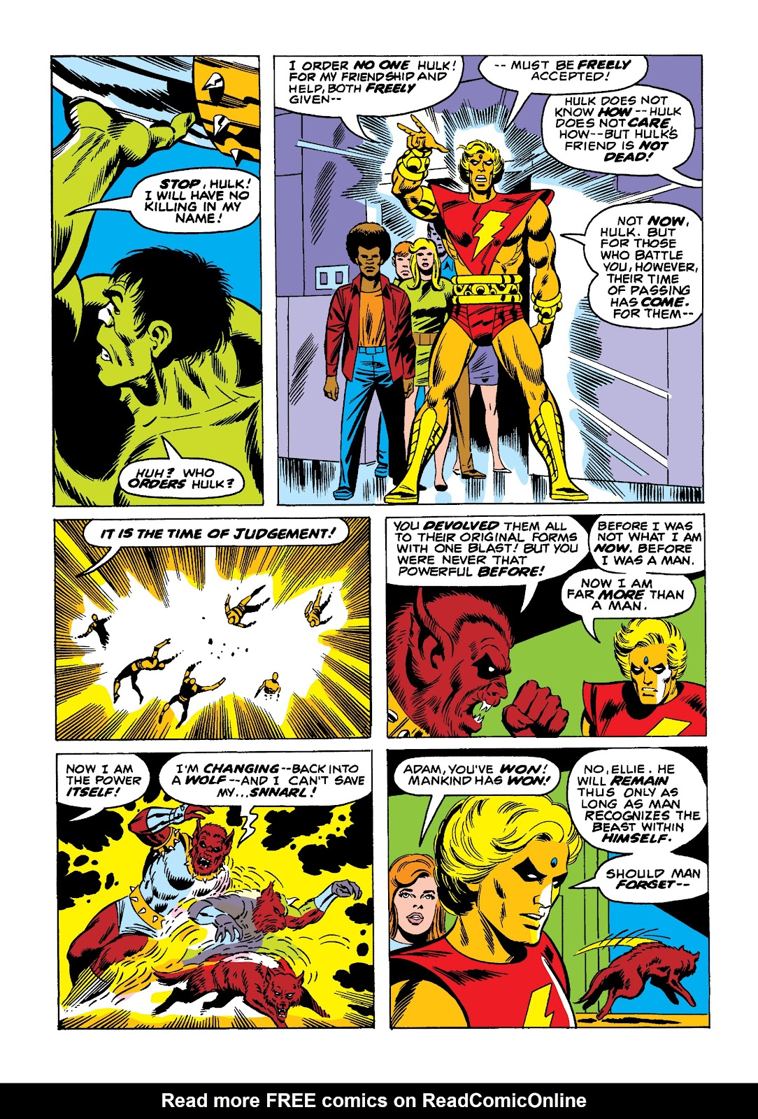 Read online Marvel Masterworks: The Incredible Hulk comic -  Issue # TPB 10 (Part 2) - 63
