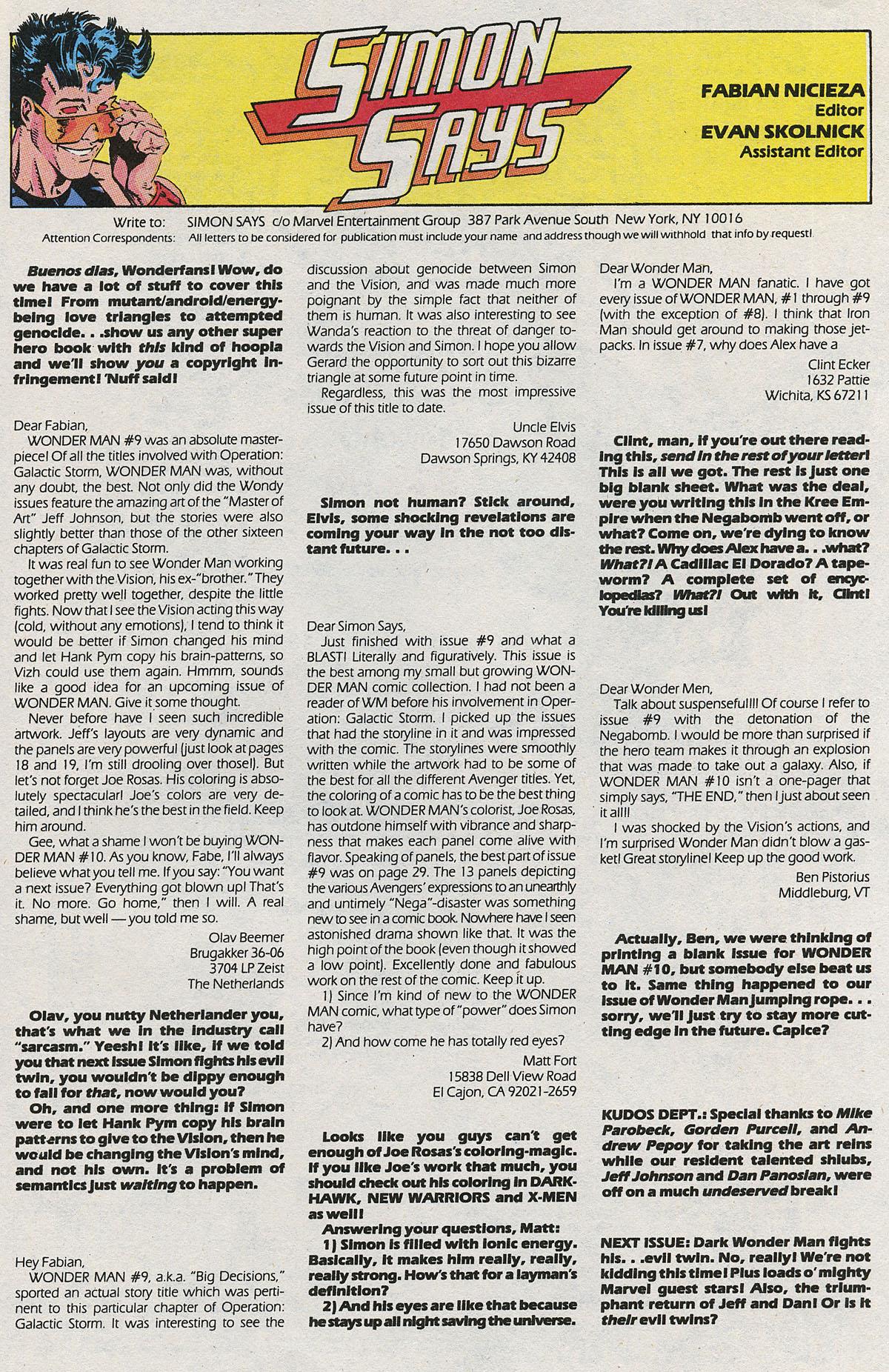 Read online Wonder Man (1991) comic -  Issue #12 - 24