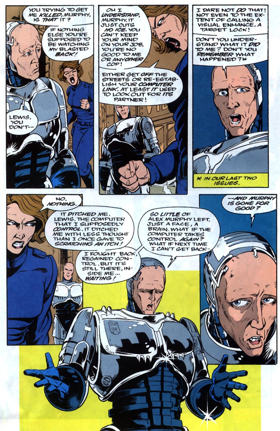 Read online Robocop (1990) comic -  Issue #20 - 11
