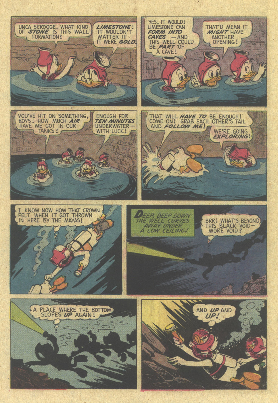 Read online Uncle Scrooge (1953) comic -  Issue #113 - 22