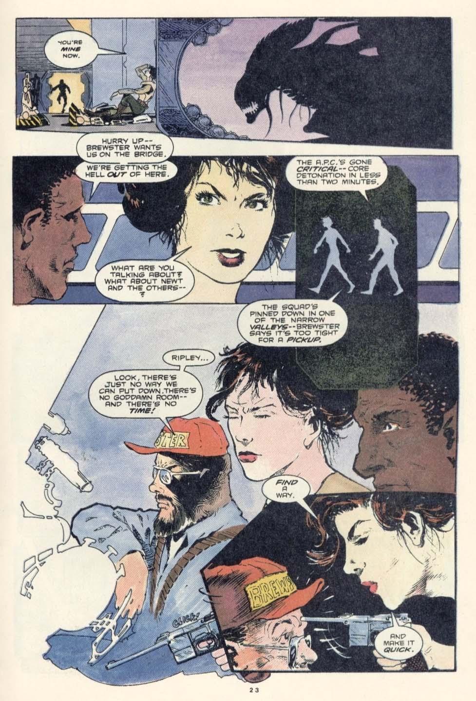 Read online Aliens: Earth War comic -  Issue #3 - 25