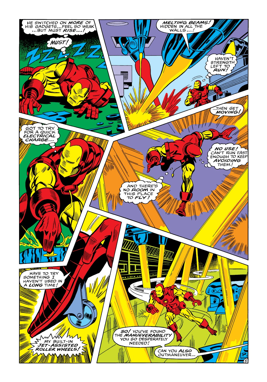 Read online Marvel Masterworks: The Invincible Iron Man comic -  Issue # TPB 5 (Part 3) - 43