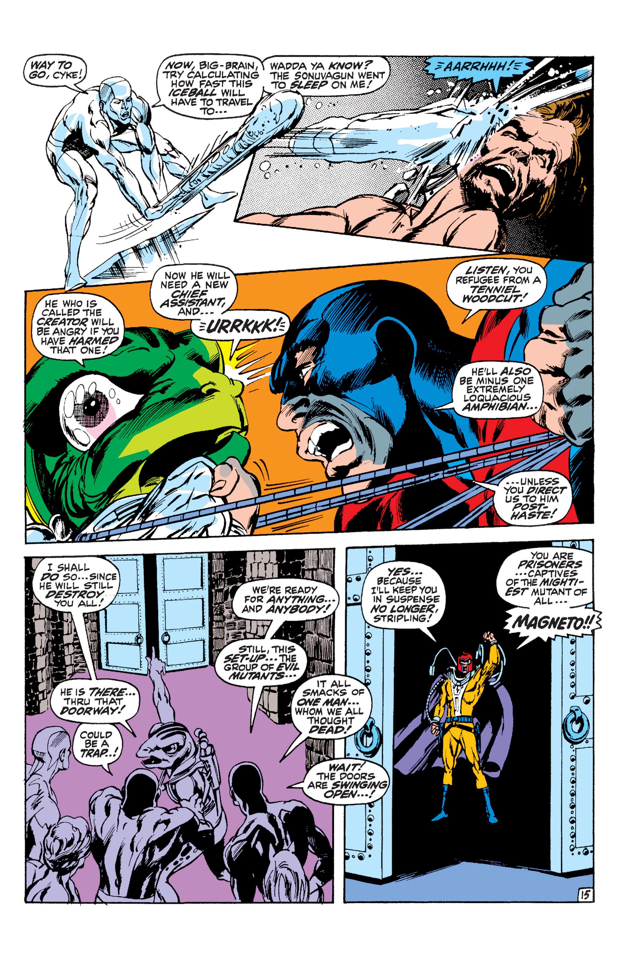 Read online Uncanny X-Men (1963) comic -  Issue #63 - 16