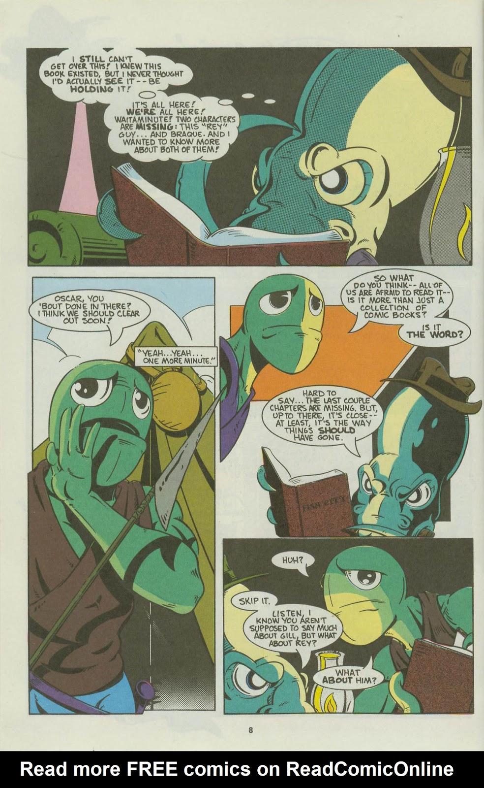 The Fish Police issue 16 - Page 10