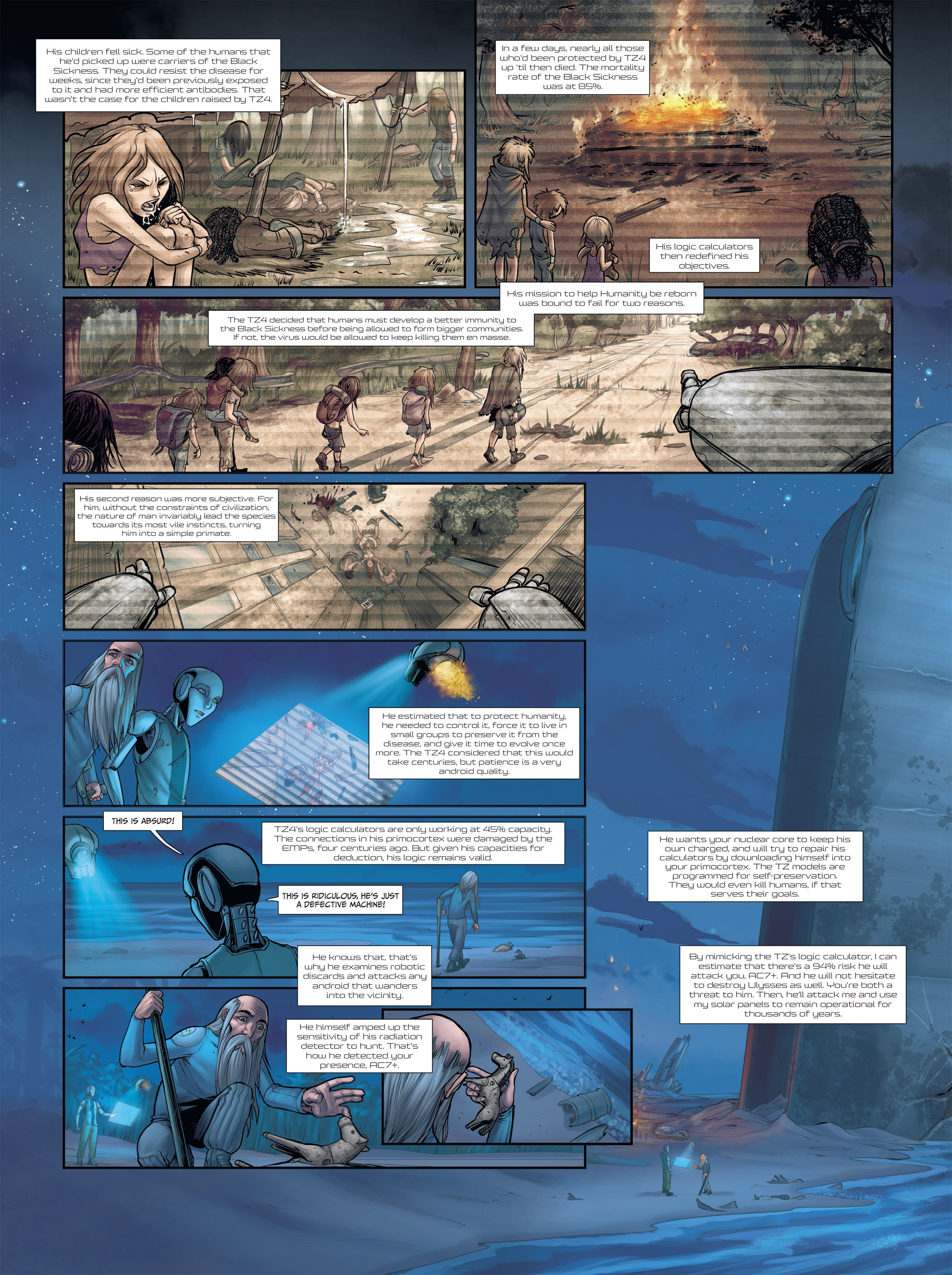 Read online Androïds comic -  Issue #2 - 37
