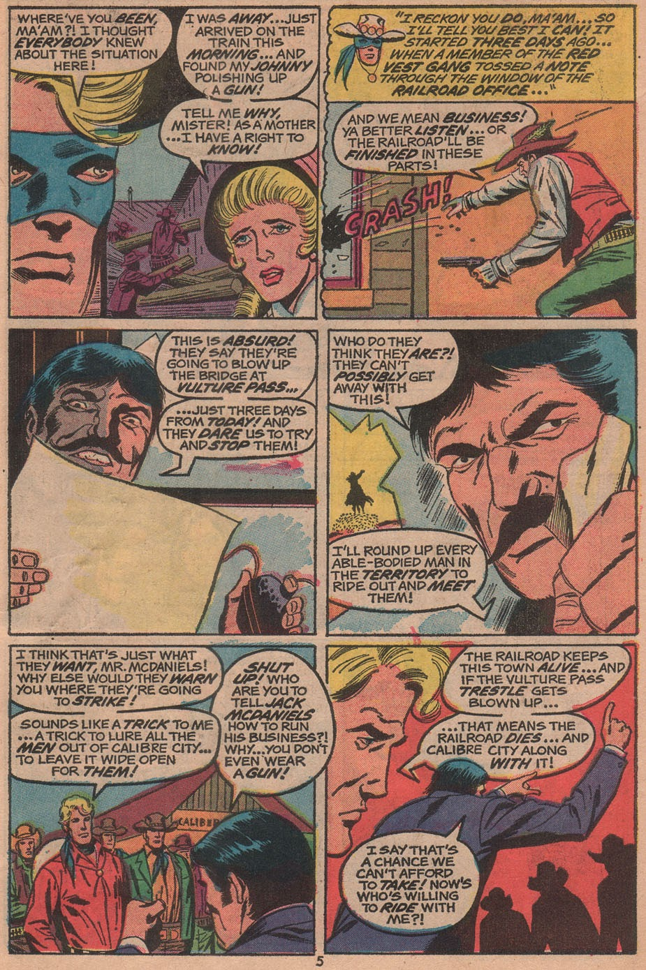 The Outlaw Kid (1970) issue 14 - Page 7