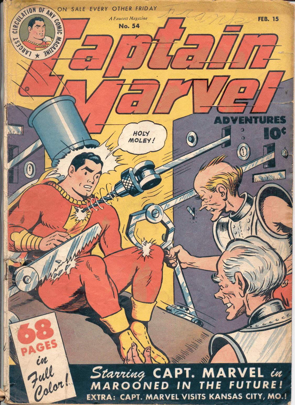 Captain Marvel Adventures 54 Page 1
