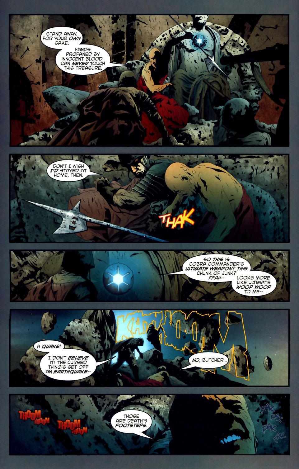 Read online Transformers/G.I. Joe comic -  Issue #1 - 4