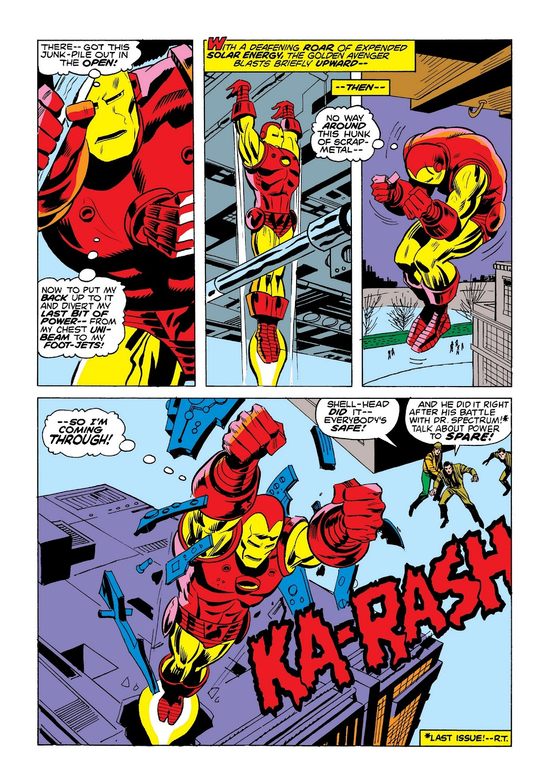 Read online Marvel Masterworks: The Invincible Iron Man comic -  Issue # TPB 9 (Part 3) - 76
