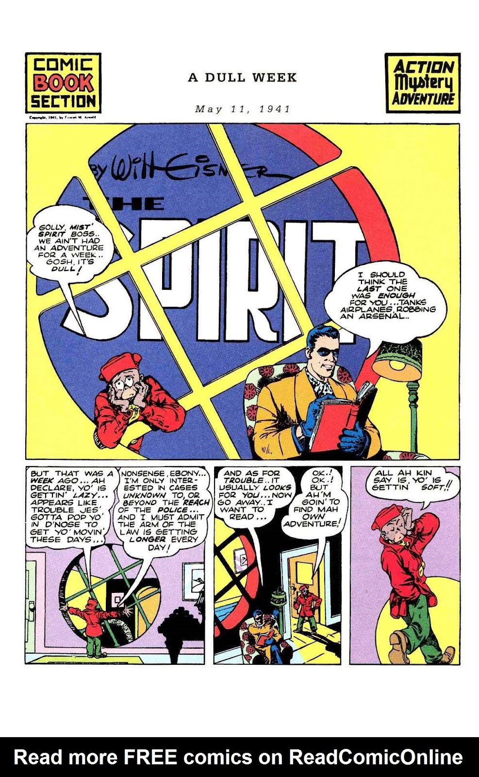 Read online Will Eisner's The Spirit Archives comic -  Issue # TPB 2 (Part 2) - 45