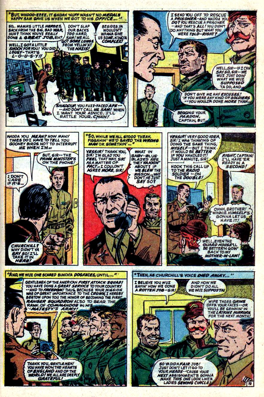 Read online Sgt. Fury comic -  Issue #44 - 27