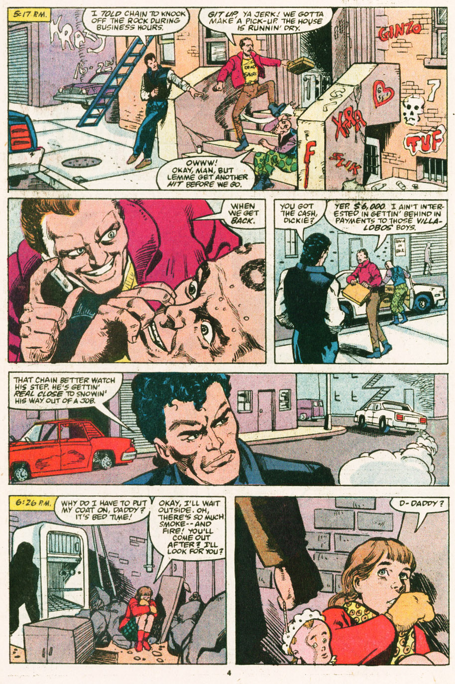 Read online Justice (1986) comic -  Issue #6 - 5