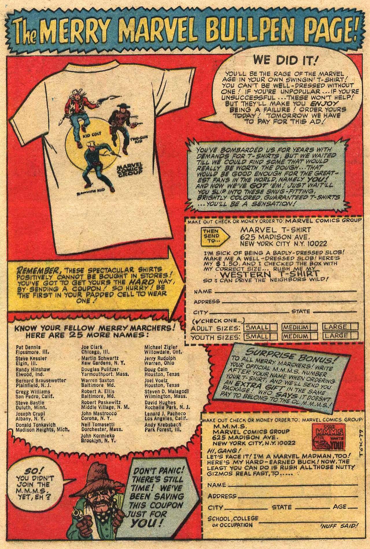 Read online Two-Gun Kid comic -  Issue #77 - 32