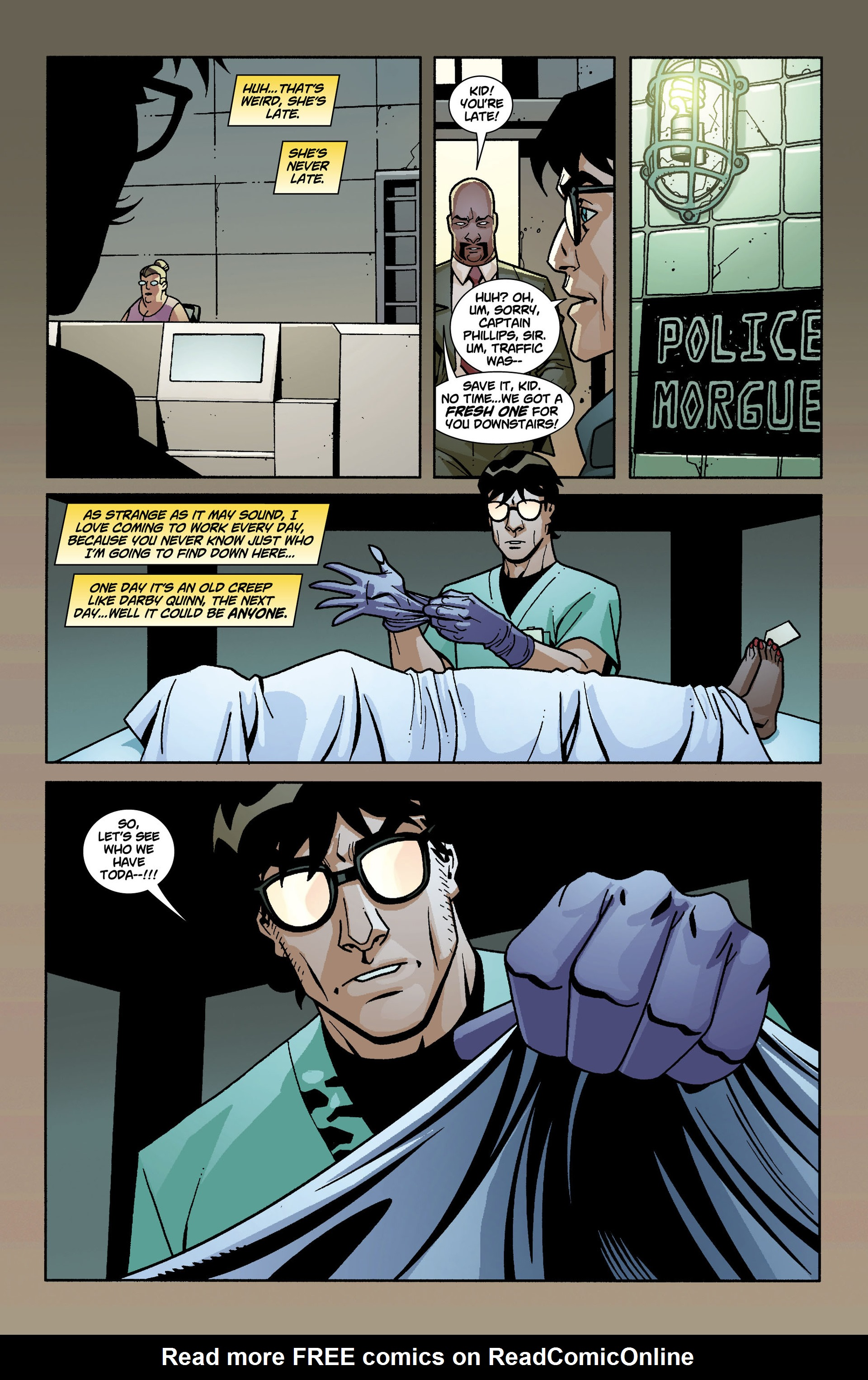 Read online National Comics: Eternity comic -  Issue # Full - 31