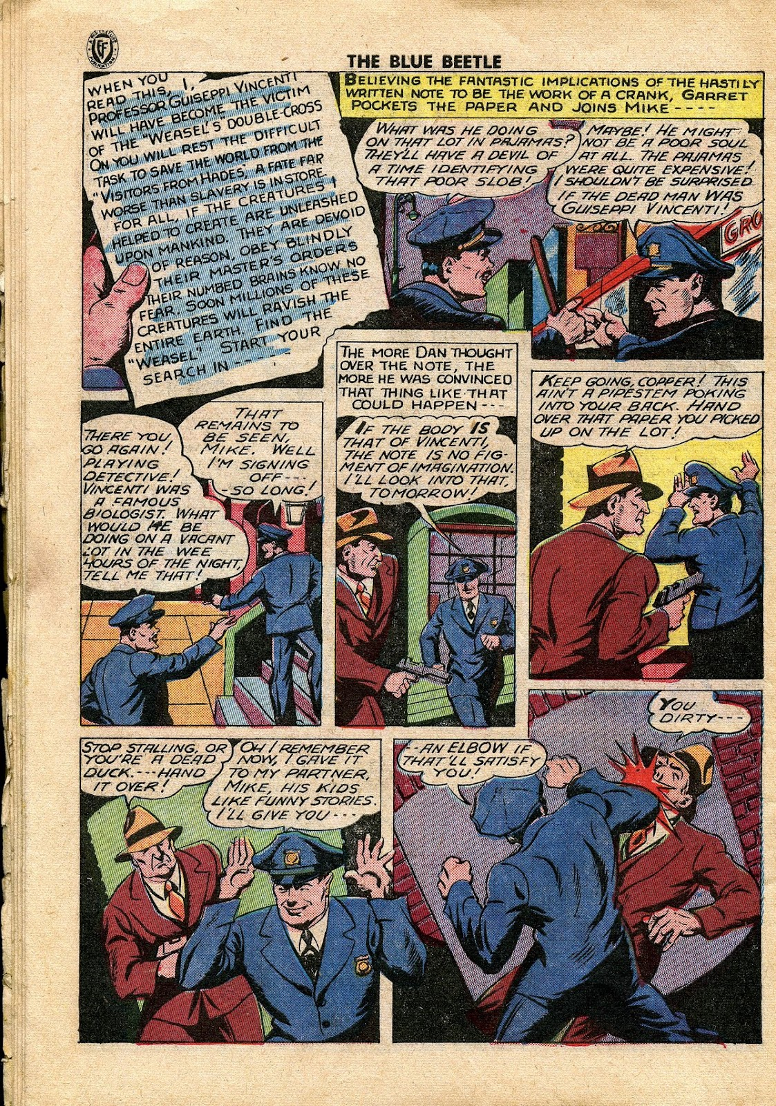 The Blue Beetle issue 34 - Page 37