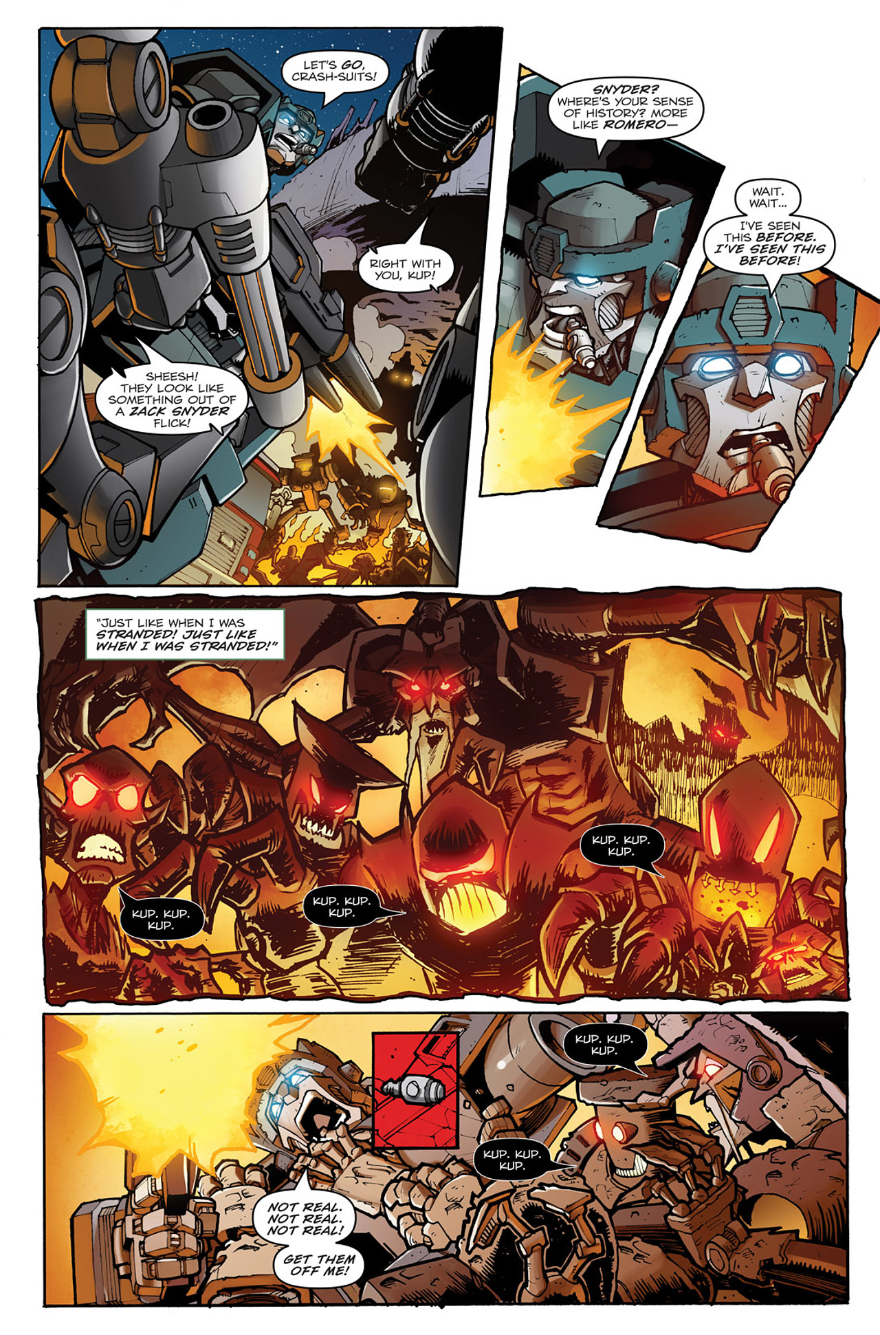 Read online Transformers: Infestation comic -  Issue #1 - 14