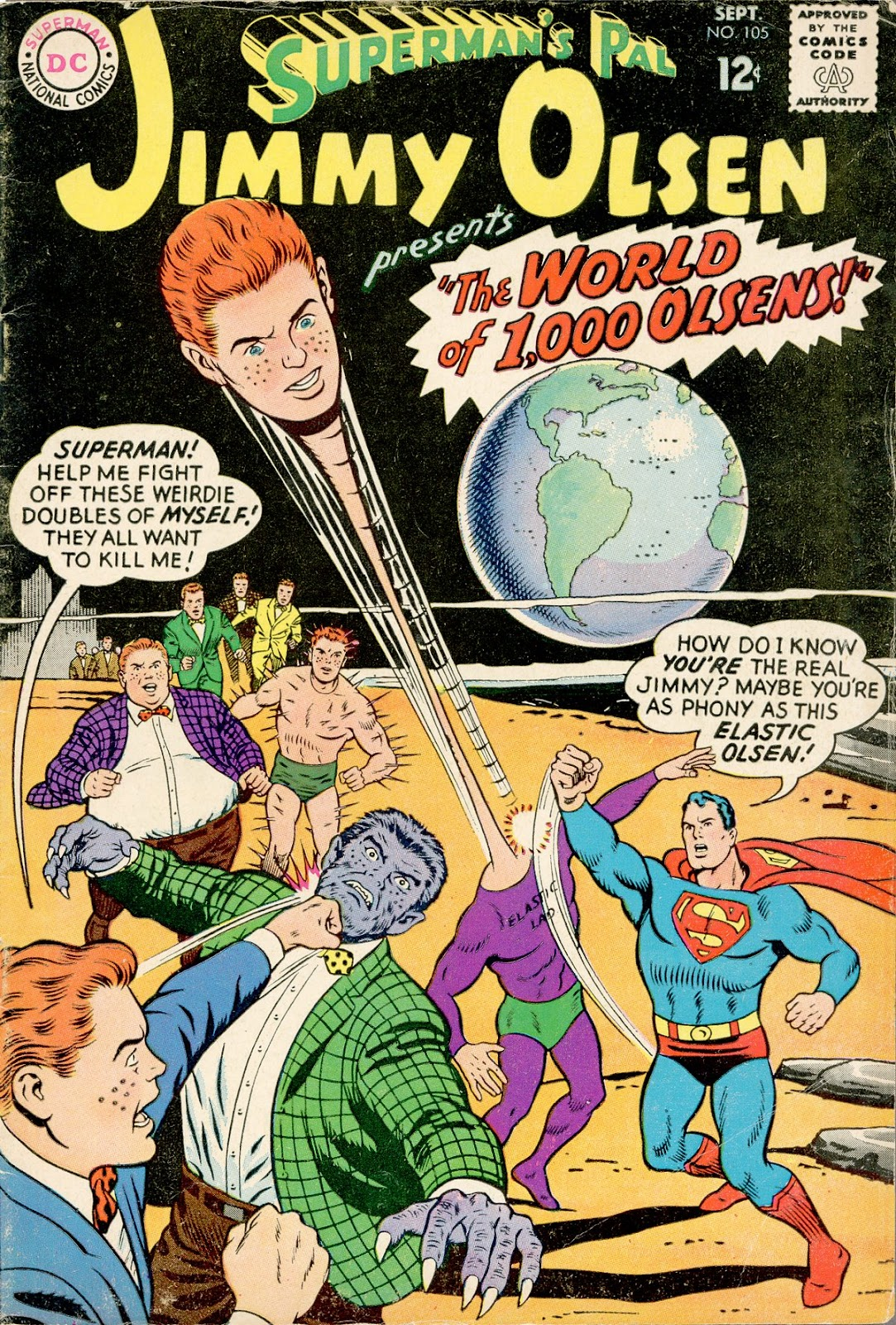 Supermans Pal Jimmy Olsen (1954) 105 Page 1