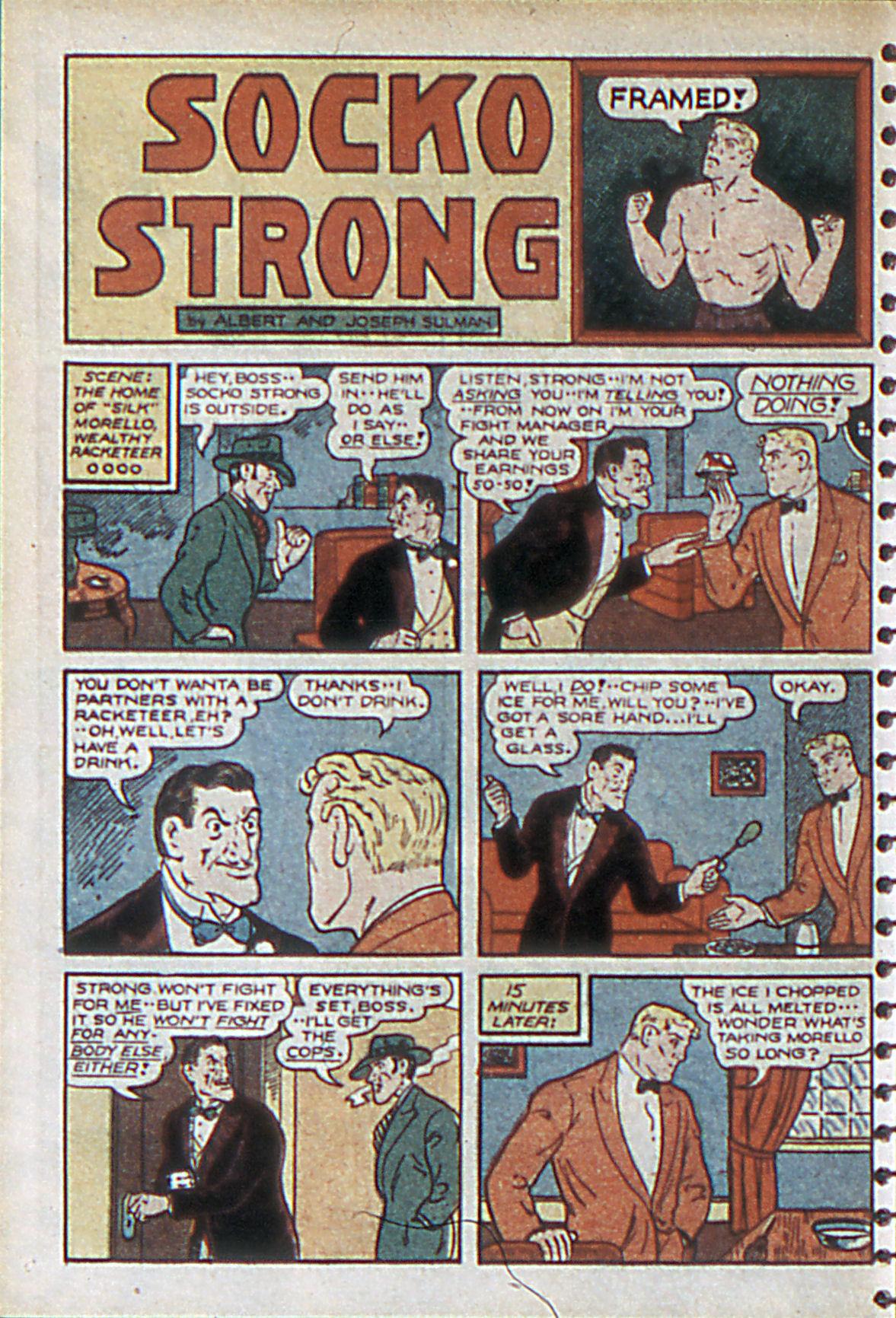Read online Adventure Comics (1938) comic -  Issue #55 - 41