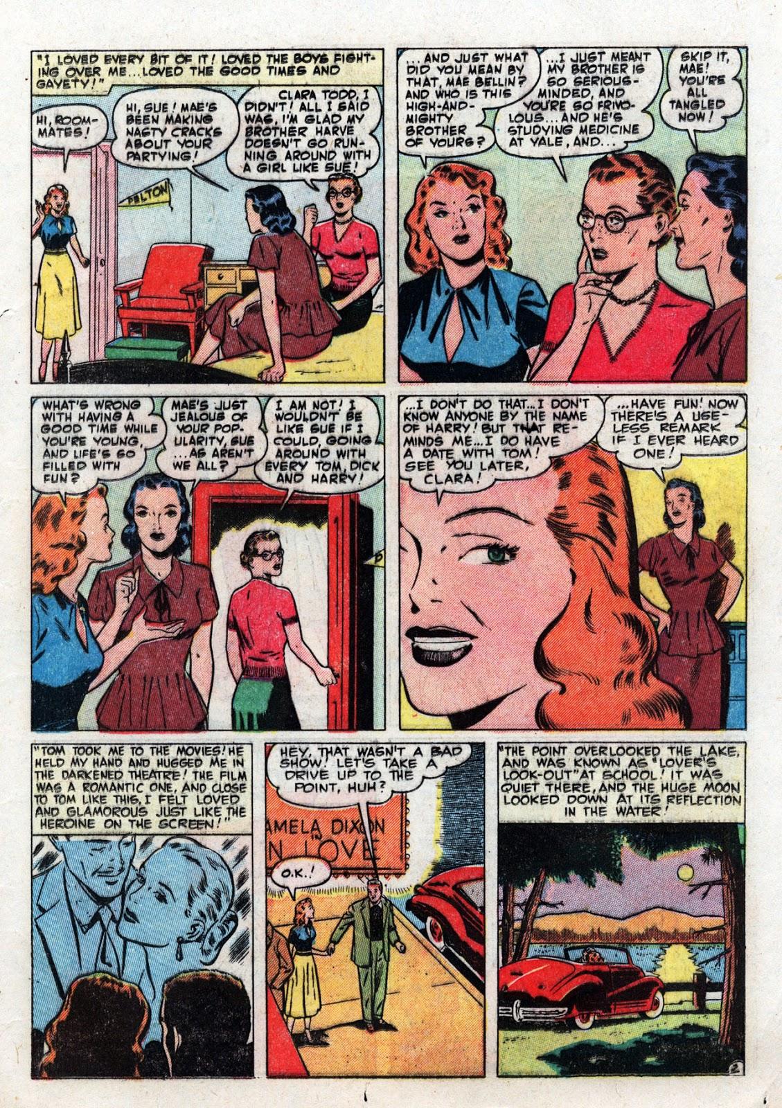 Love Romances (1949) issue 19 - Page 13