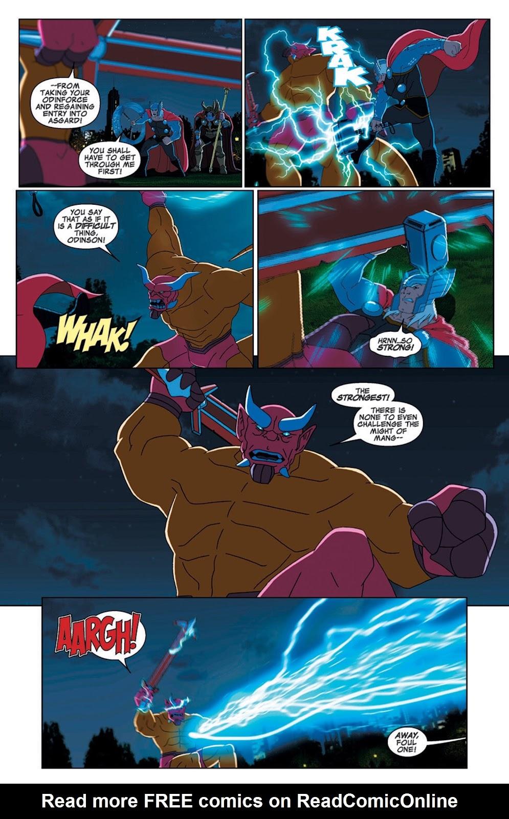 Read online Marvel Universe Avengers Assemble Season 2 comic -  Issue #7 - 14
