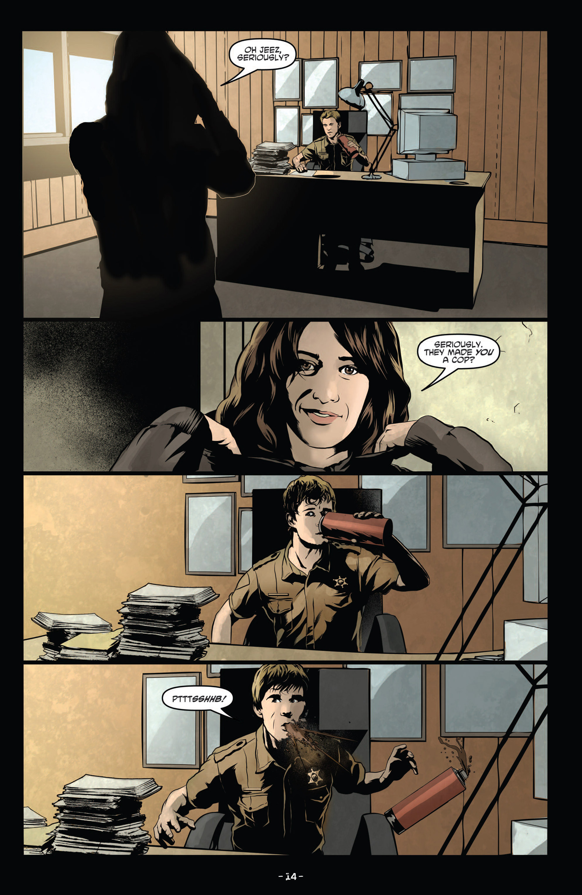Read online True Blood (2012) comic -  Issue #12 - 16