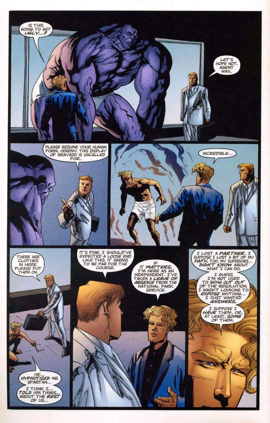 Wildcats (1999) Issue #28 #29 - English 16