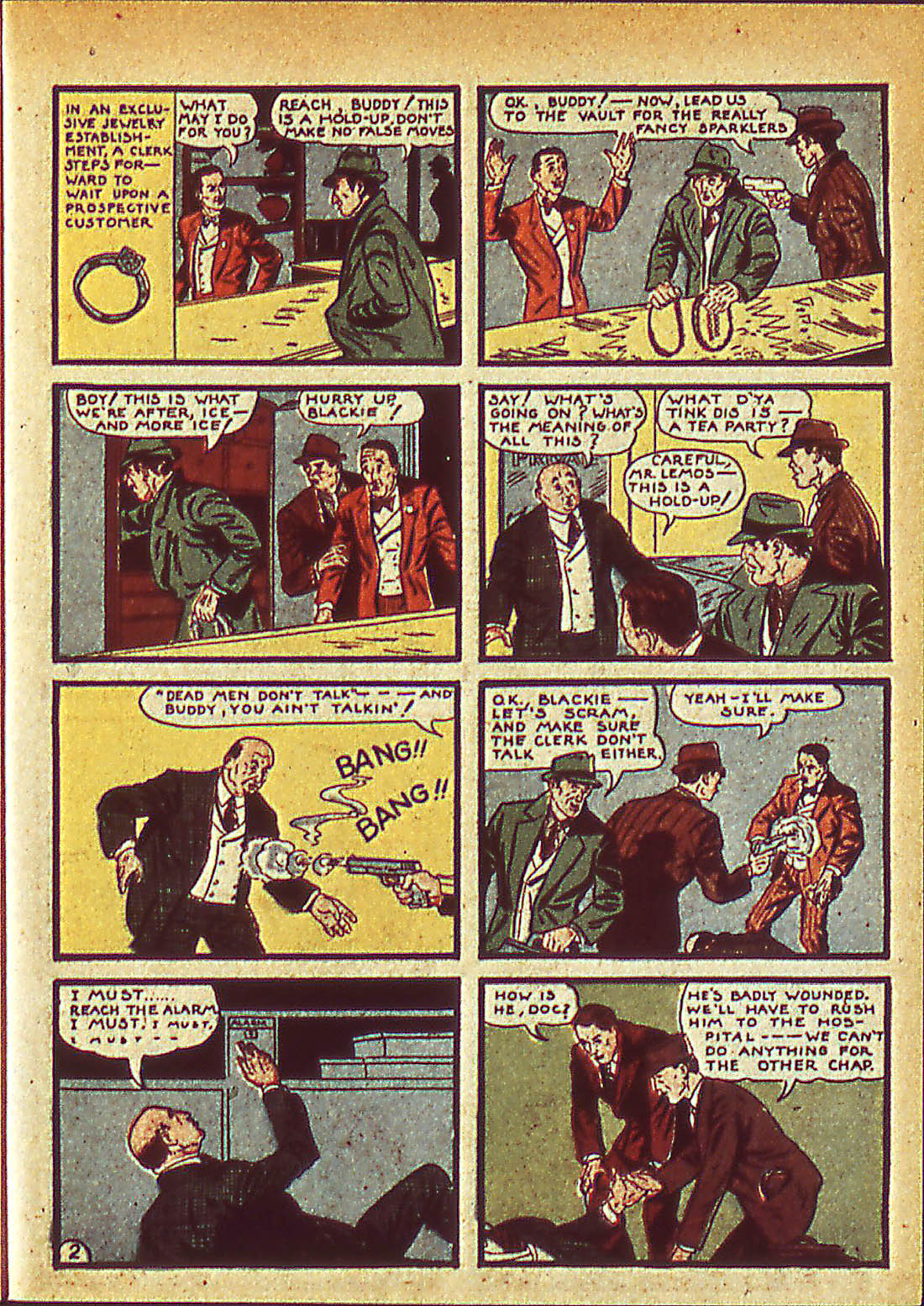 Read online Detective Comics (1937) comic -  Issue #42 - 25