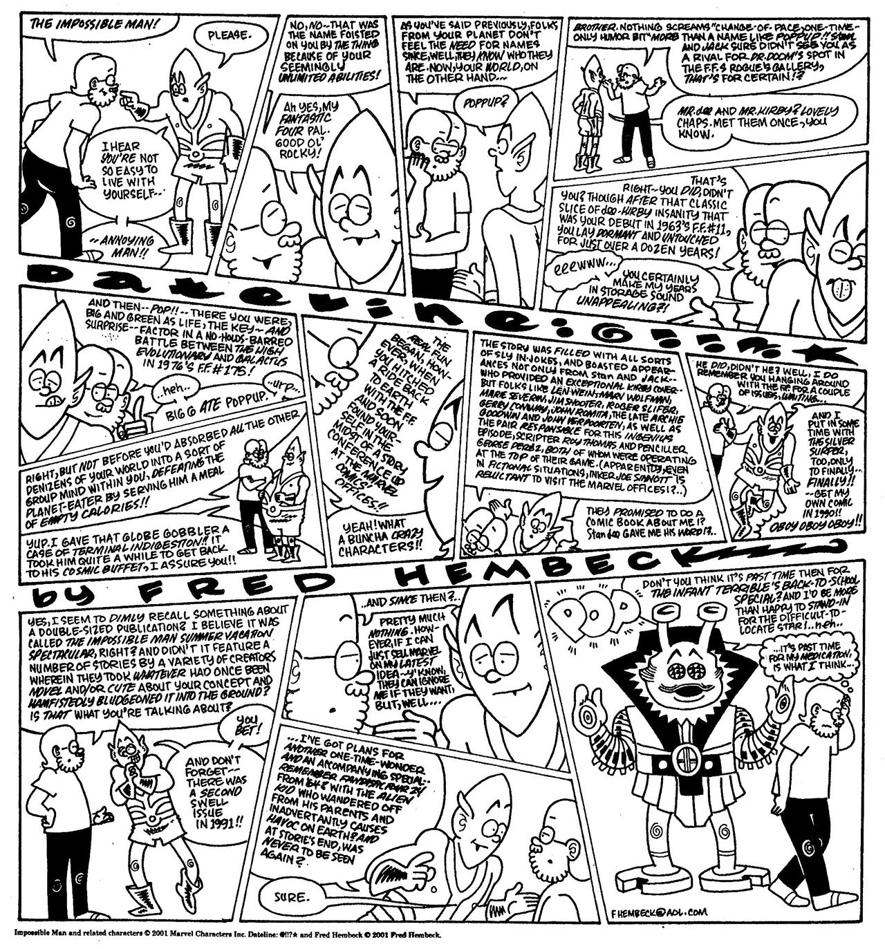 Read online The Nearly Complete Essential Hembeck Archives Omnibus comic -  Issue # TPB (Part 8) - 59