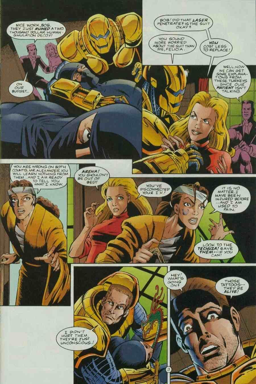 Read online Ultraverse Premiere comic -  Issue #9 - 17
