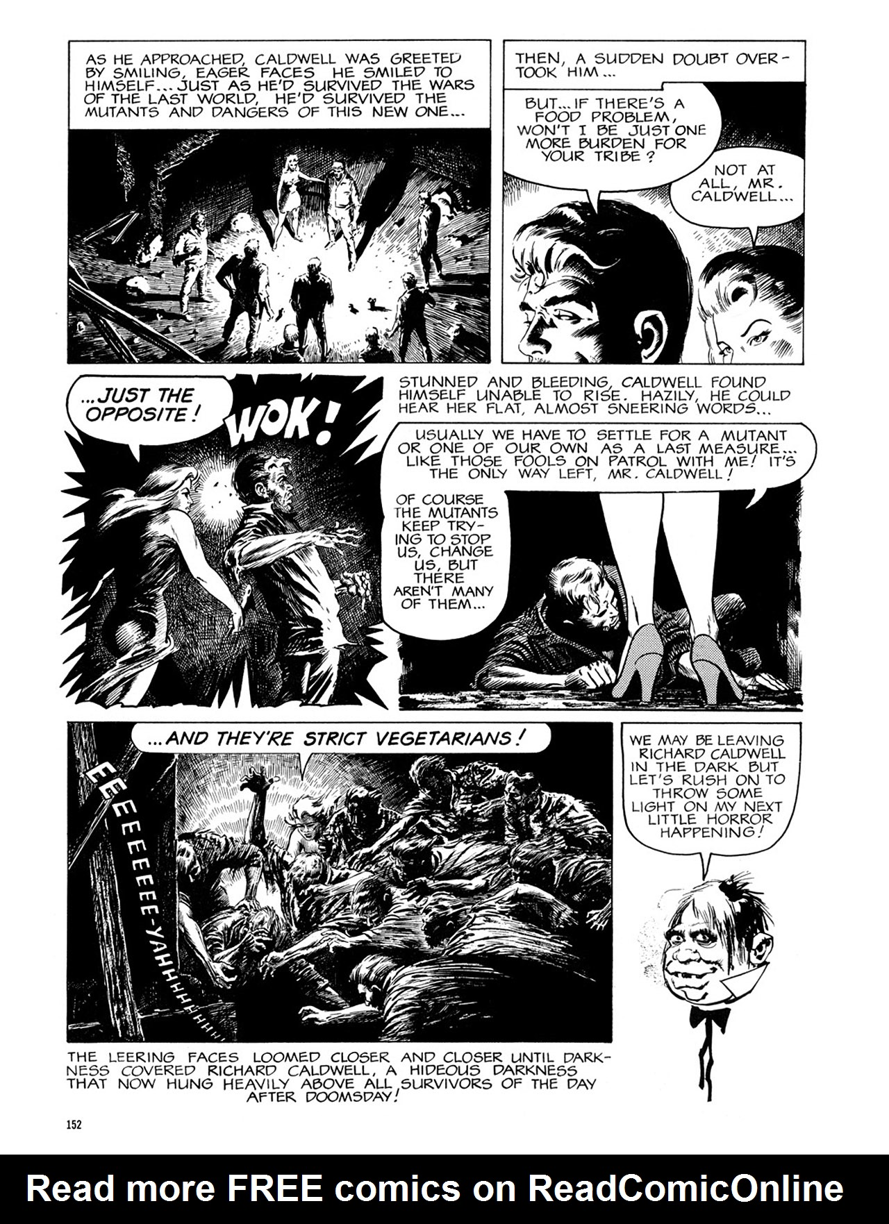 Read online Eerie Archives comic -  Issue # TPB 2 - 153