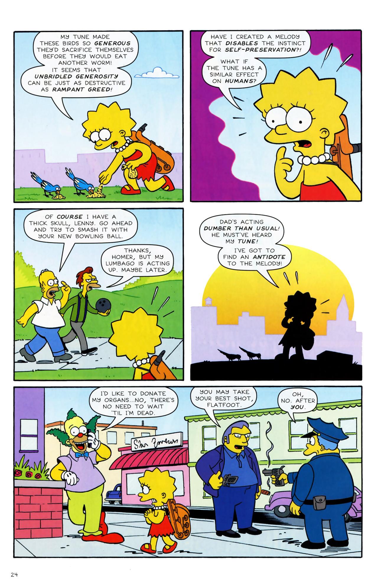 Read online Simpsons Comics comic -  Issue #170 - 17