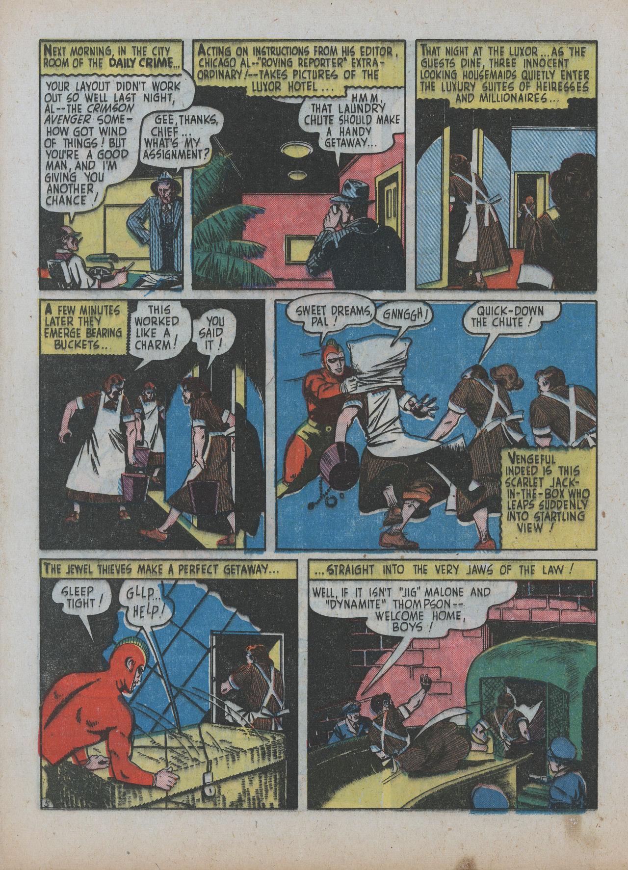 Read online Detective Comics (1937) comic -  Issue #63 - 36