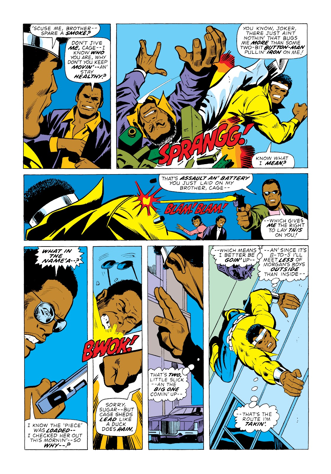 Read online Marvel Masterworks: Luke Cage, Power Man comic -  Issue # TPB 2 (Part 1) - 62