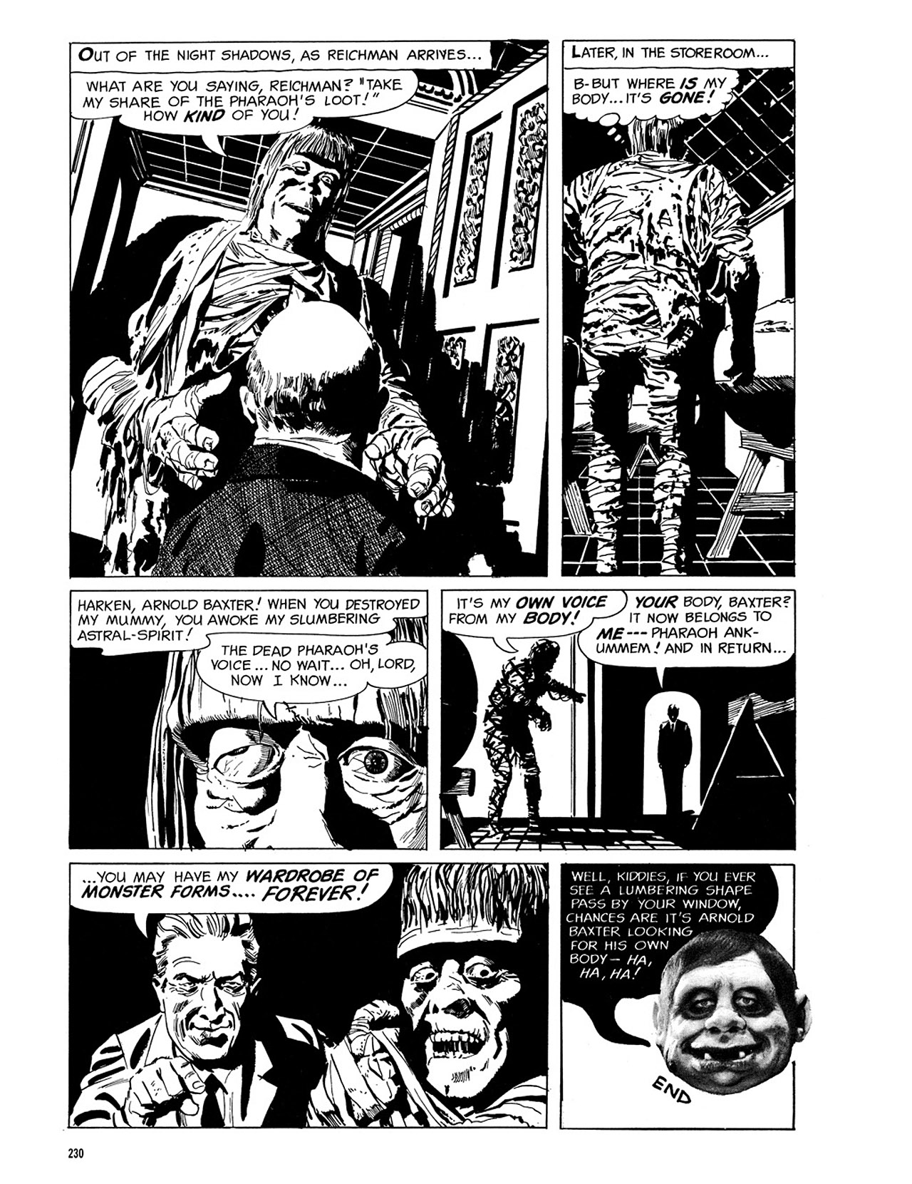 Read online Eerie Archives comic -  Issue # TPB 3 - 231